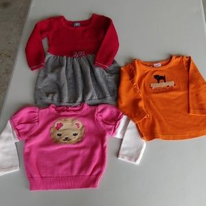 Lot of girls clothes 18-24 months